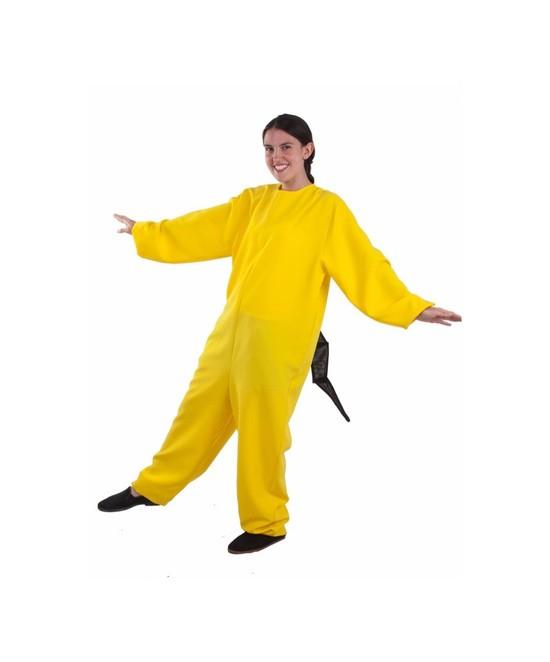 Disfraz Maillot Gato Amarillo Adulto