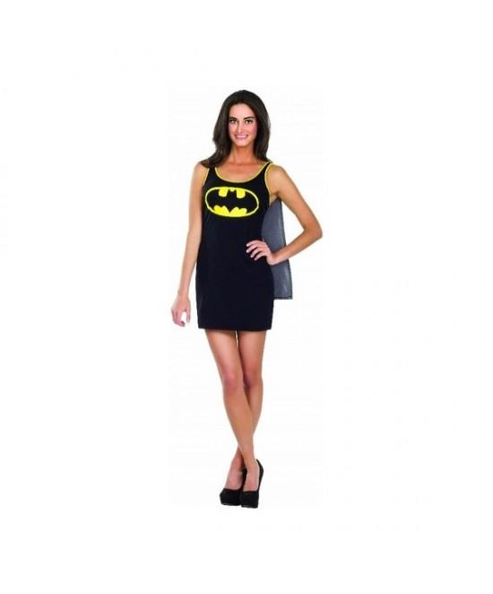 Disfraz Vestido Batgirl Adulta