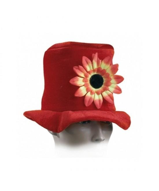 Sombrero Rojo  Margarita  adulto