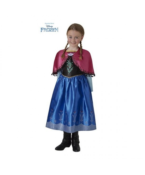 Disfraz Anna Deluxe para niña