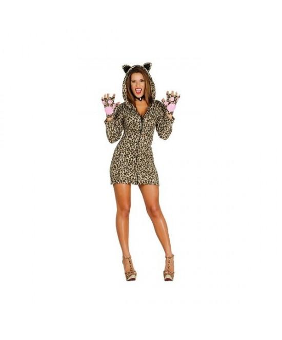 Disfraz Leoparda Mujer
