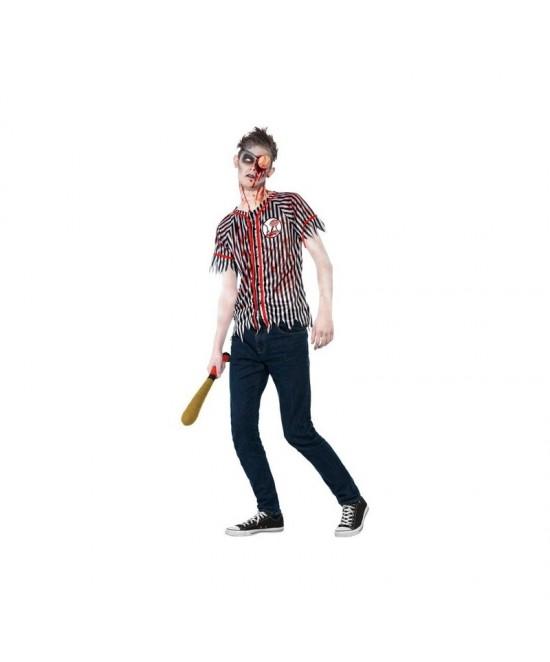 Disfraz Jugador  Baseball Zombie +13años