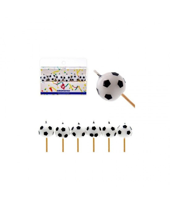 Velas Balón Fútbol