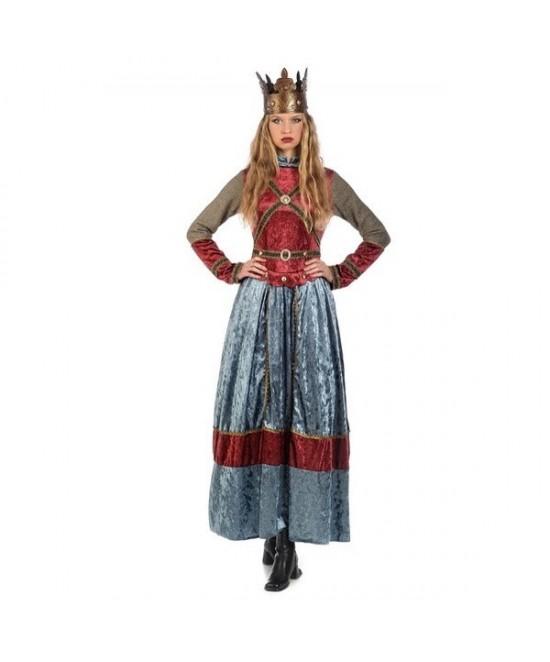 Disfraz Medieval Isabel mujer deluxe