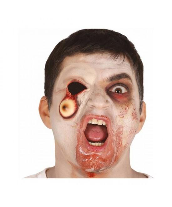 Cicatriz ojo caido con  cinta  adhesiva