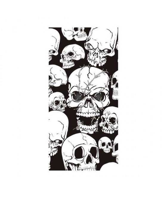 Cubrepuertas  esqueletos  75x150cm