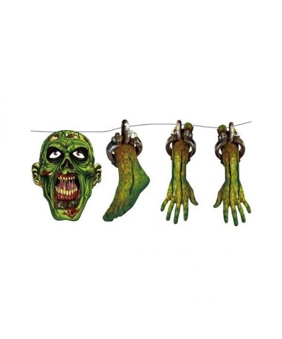 Guirnalda Zombie 150cm