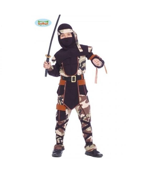 Disfraz Ninja Comando para niño