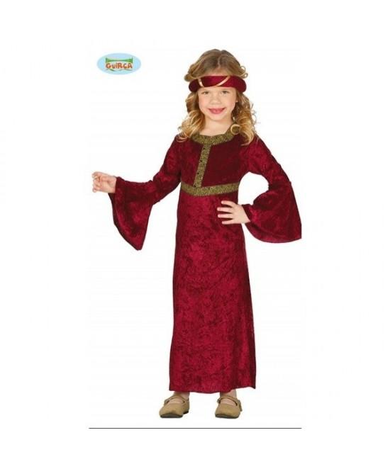 Disfraz Chica Medieval para niña