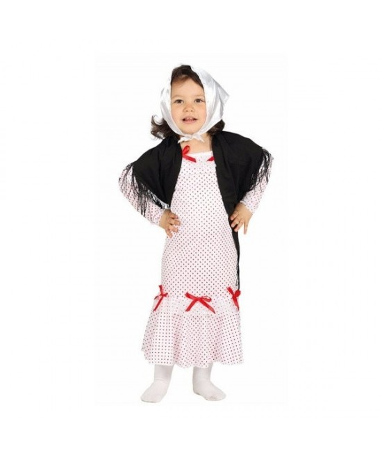 Disfraz Madrileña bebe