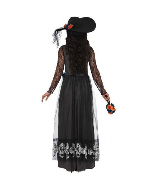 Disfraz Esqueleto Día de muertos mujer