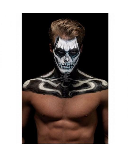 Set FX esqueleto  latex+ maquillaje