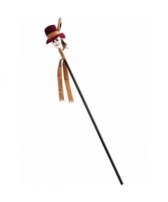 Bastón / Cetro Hechicero  Vudú  (112cm)