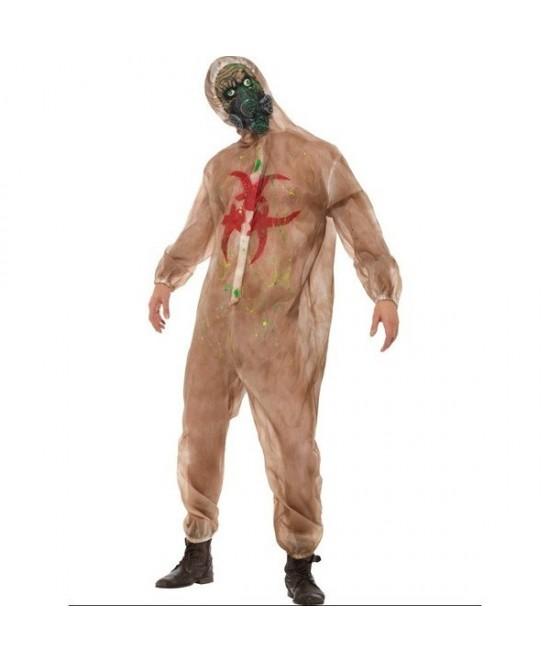 Disfraz Zombie con máscara adulto