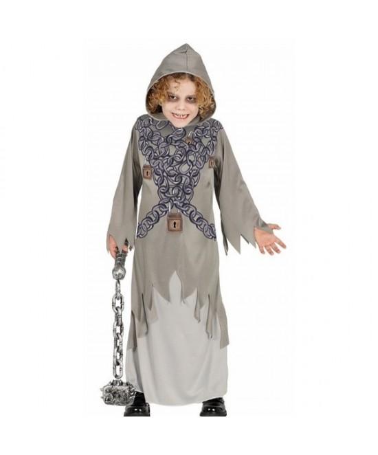 Disfraz Fantasma gris infantil