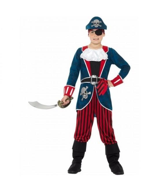 Disfraz Pirata infantil Deluxe