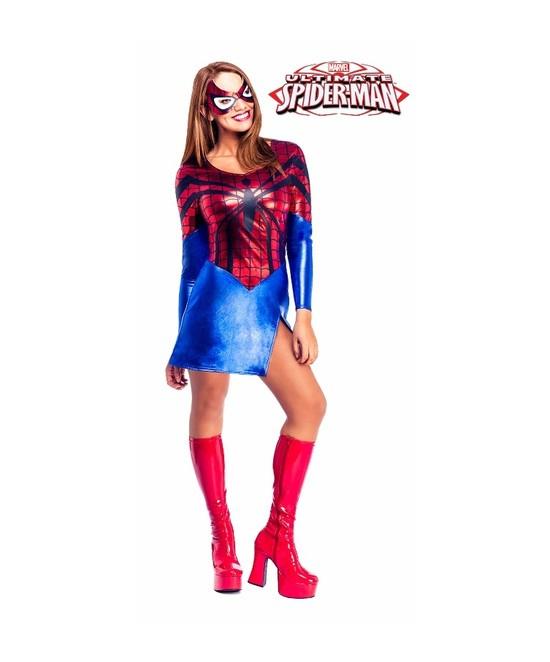 Disfraz Spider Girl adulta