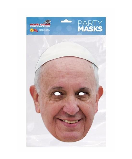 Careta Papa Francisco carton