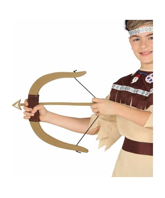 Arco con 3 flechas E.V.A.  37 cms.
