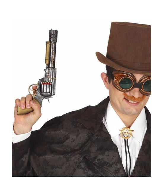 Revolver  Steampunk 30 cms.