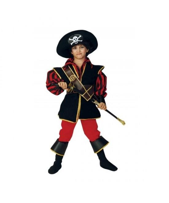Disfraz Pirata Sandokan lujo