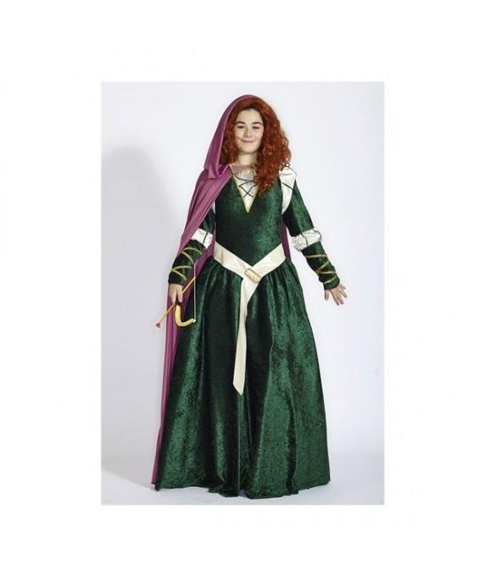 Disfraz Mérida para mujer lux