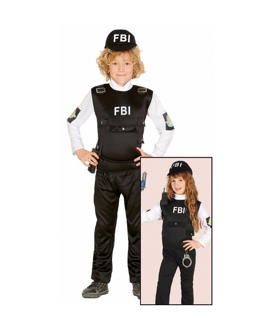 Disfraz  F.B.I. infantil