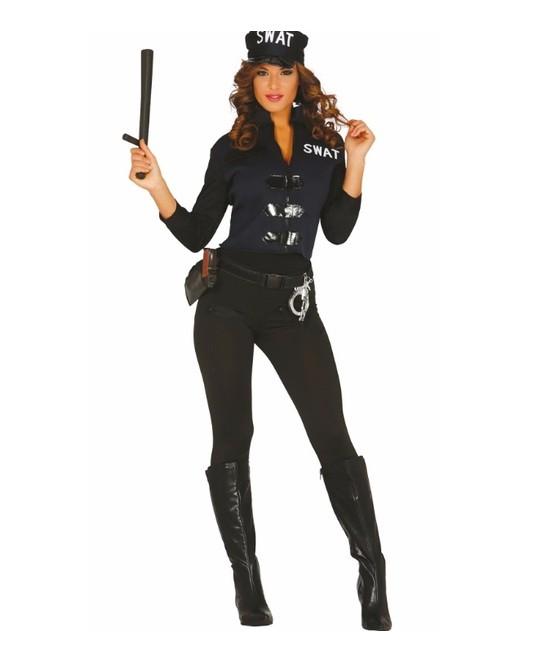 Disfraz  S.w.a.t. Policía mujer