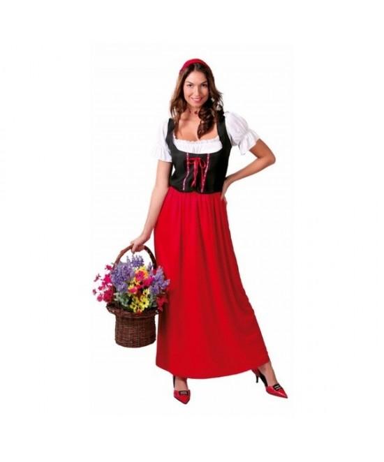 Disfraz Posadera para mujer