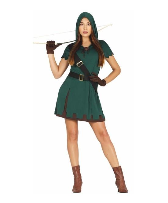Disfraz Cazadora para mujer