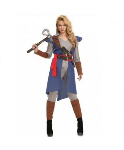 Disfraz Justiciera Azul mujer