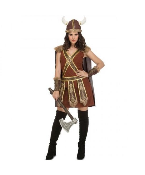 Disfraz Vikinga Guerrera mujer T.ML