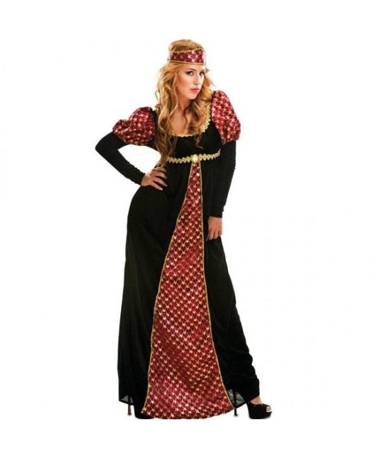 Disfraz Princesa medieval mujer T.ML
