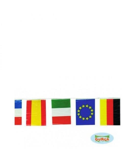 Bandera internacional 50M. 20x30cm plast