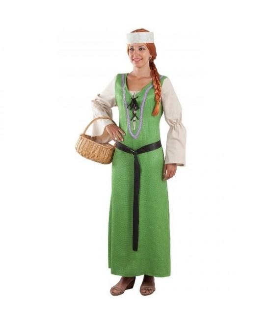 Disfraz Campesina medieval mujer