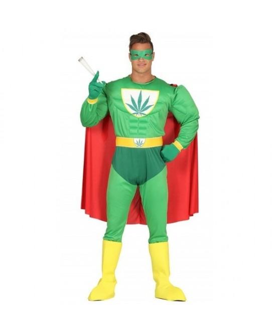 Disfraz Super Marihuana adulto