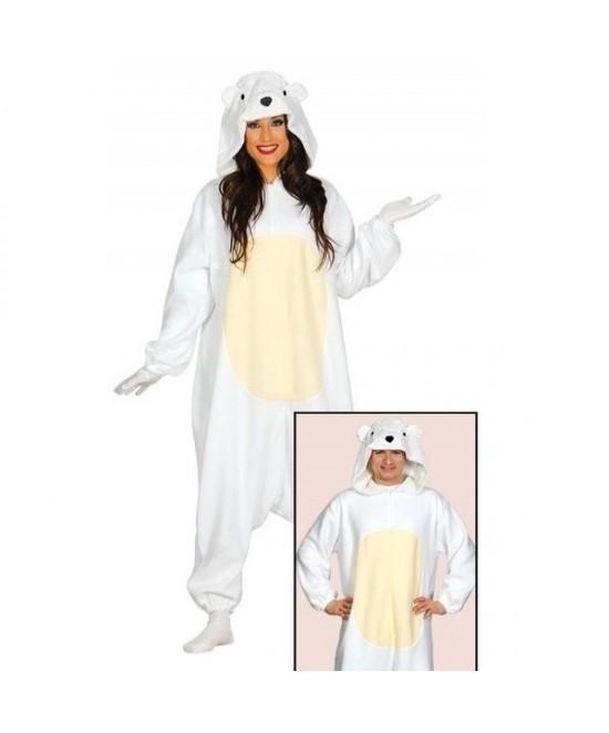 Disfraz Pijama oso polar mujer